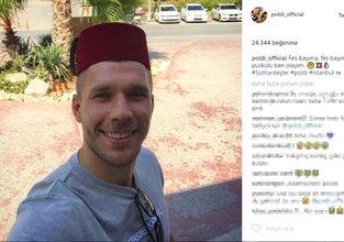 Lukas Podolskiden güldüren paylaşım