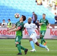 Trabzonspor-Bursaspor karşılaşmasından kareler