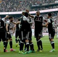 Beşiktaş-Kasımpaşa karşılaşmasından kareler