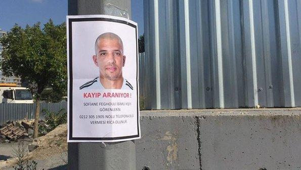 Kayıp aranıyor: Feghouli!