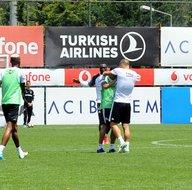 Beşiktaş idmanında gerginlik