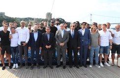Galatasarayda birlik ve beraberlik gezisi