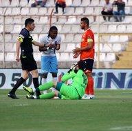 Adanaspor-Trabzonspor karşılaşmasından kareler