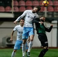 Akhisar Belediyespor-Trabzonspor karşılaşmasından kareler