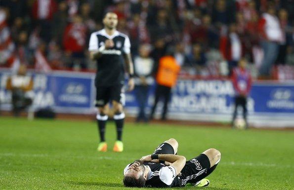 Antalyaspor-Beşiktaş karşılaşmasından kareler