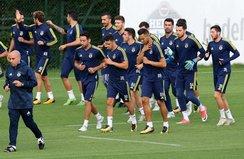Fenerbahçede Soldado çalışmaya katılmadı