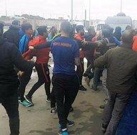 A Spor'a saldıran Başakşehirli futbolcular yandı