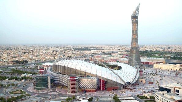 Katar'ın ilk modern stadı görücüye çıktı